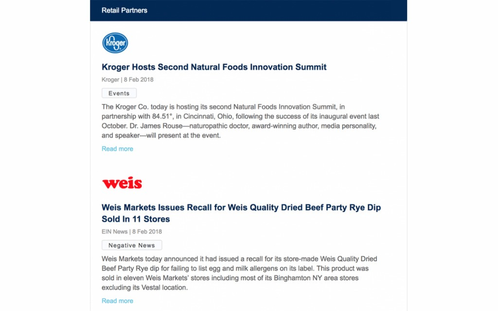 Market Intelligence - Key Topics