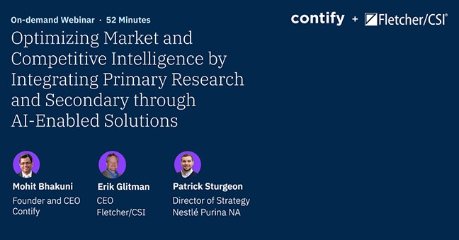 Optimizing Competitive Intelligence By Integrating Primary Research And Secondary