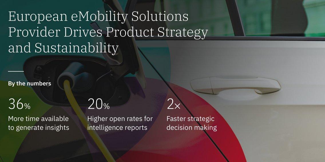 European Emobility Solutions Provider Drive Product Strategy Via Market Intelligence Platform