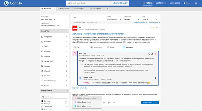 Improve Collaboration And Increase Engagement With Contify S Latest Feature Of Newsfeed Commenting