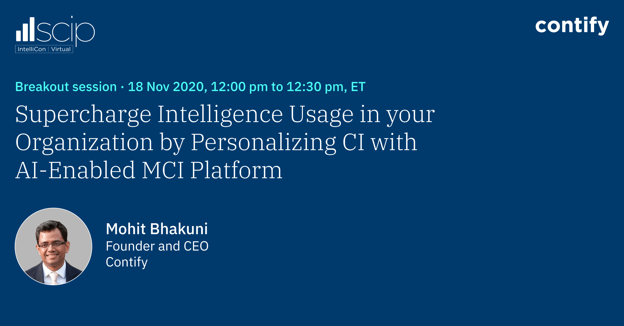 Supercharge Intelligence Usage In Your Organization By Personalizing Ci With Ai Enabled Mci Platforms