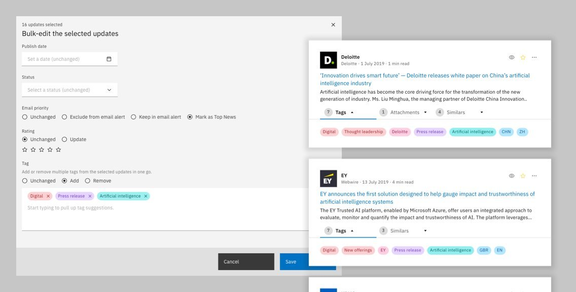 Curate Updates For The Newsfeed Efficiently With Bulk Edit Information