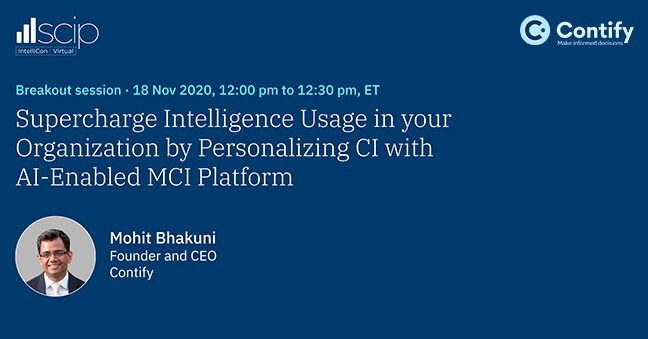 Supercharge Your Organization S Intelligence Usage By Personalizing Ci With Ai Enabled Mci Platforms