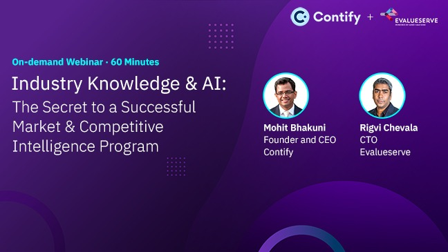 Learn How Artificial Intelligence Is The Secret To A Successful Market And Competitive Intelligence Program